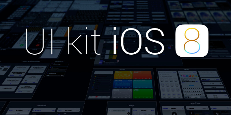 Huge Freebie: iOS 8 GUI Pack (commercial usage allowed
