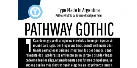 professional font pathway gothic one