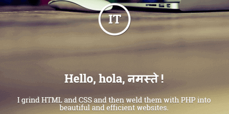 responsive portfolio html template