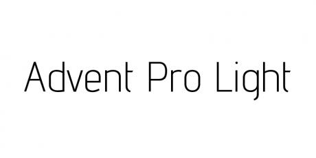 web print elegant typeface