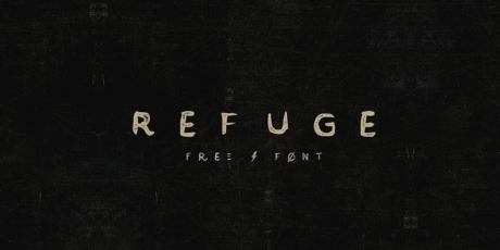 vintage font handcrafted