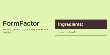 css html form elements generator