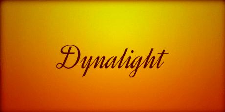 dynalight font