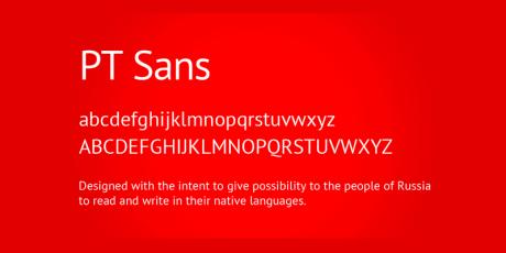elegant sans serif web font