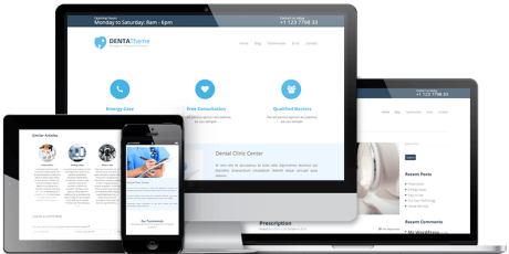 free dentist business wordpress theme