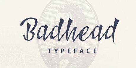 free stylish script typeface