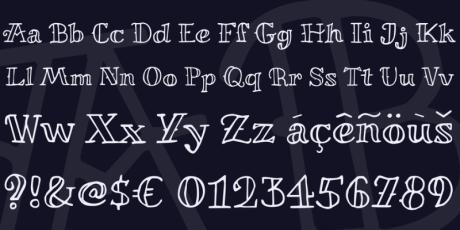 miltonian playful font