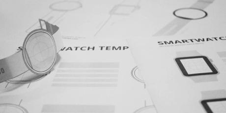multiple minimal smart watch pdf templates