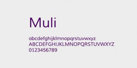 open source multi device font