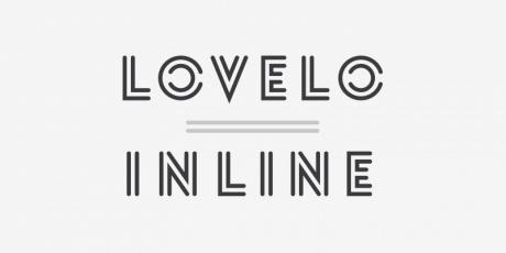 original inline font