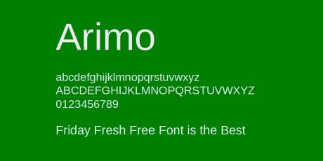 professional legible typeface