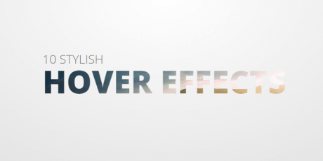 pure css stylish hover effects