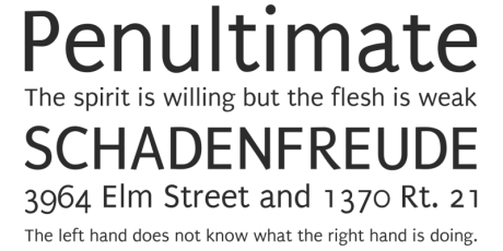 regular sans serif font