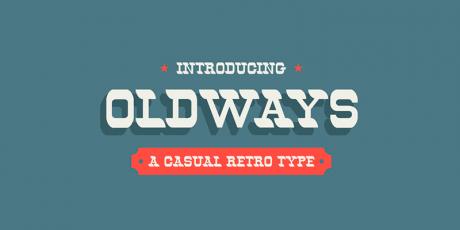 retro vintage free font