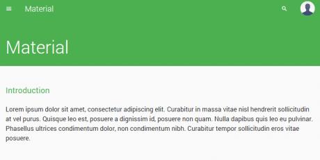 simple html5 user interface design