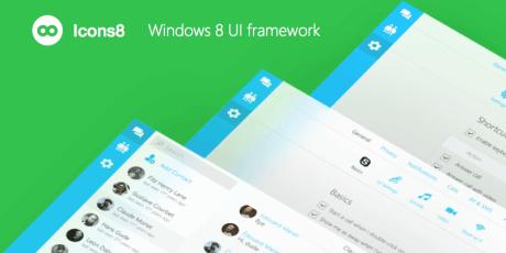 windows 8 sketch ui framework