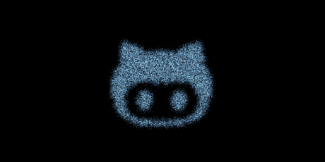 css javascript particle social icons