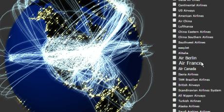 data visualization webgl framework