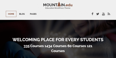 free education focused wordpress theme