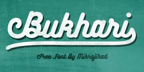 free handwritten script font