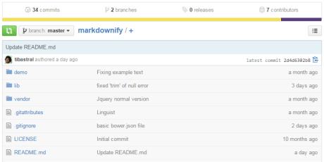 minimal javascript markdown editor