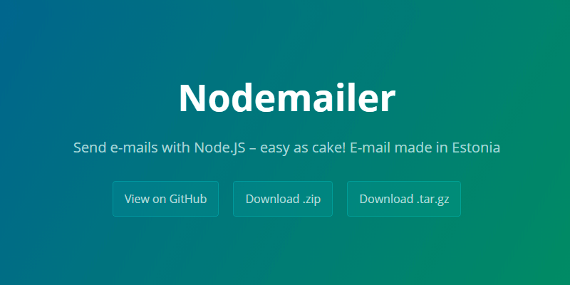 Nodemailer: NodeJS Email Library | Bypeople