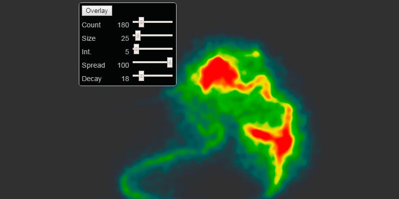 WebGL Heatmap Display Library   Bypeople