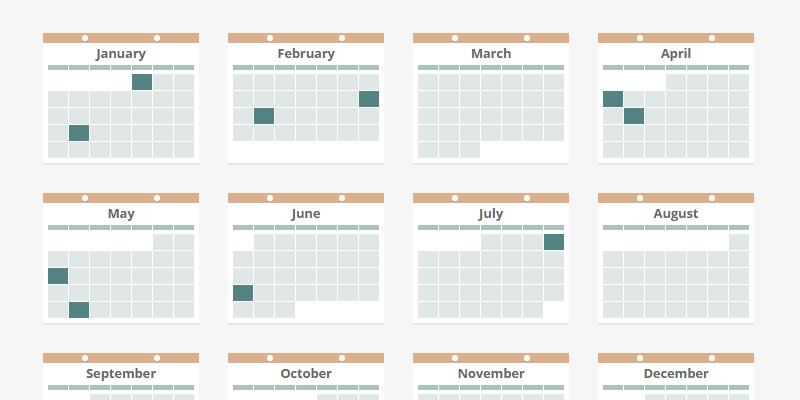Css Calendar Bypeople