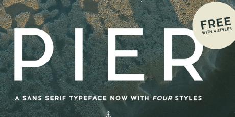 free elegant sans serif typeface