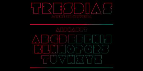 free futuristic sharp font