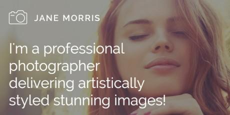 photographers portfolio wordpress theme