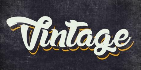 vintage retro illustrator styles
