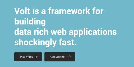 data rich web apps ruby framework
