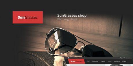 e shop website psd template