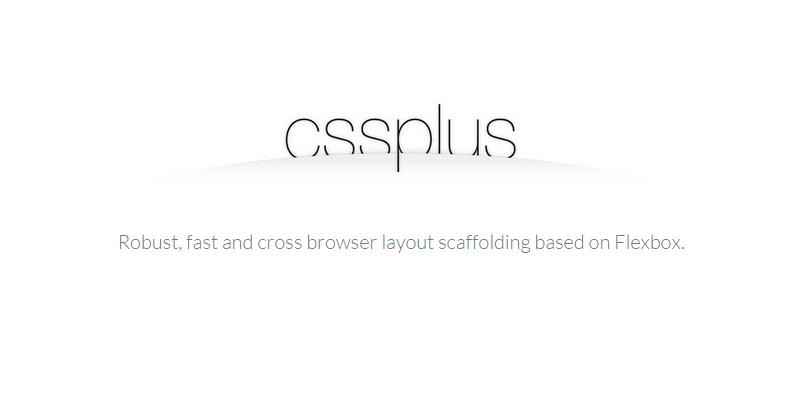 CSSPlus: A Flexbox-based CSS Framework