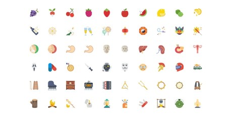 free sketch multipurpose flat outline icons