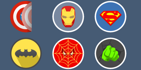 javascript animated stickers library