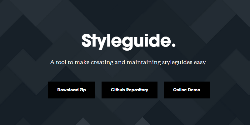 Styleguide: JavaScript Style Guides Generator