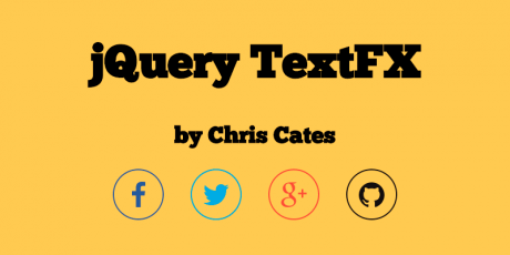 jquery text effects plugin