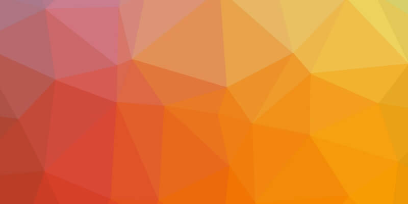 Wallpaper low poly orange
