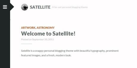 minimal blogs wordpress theme