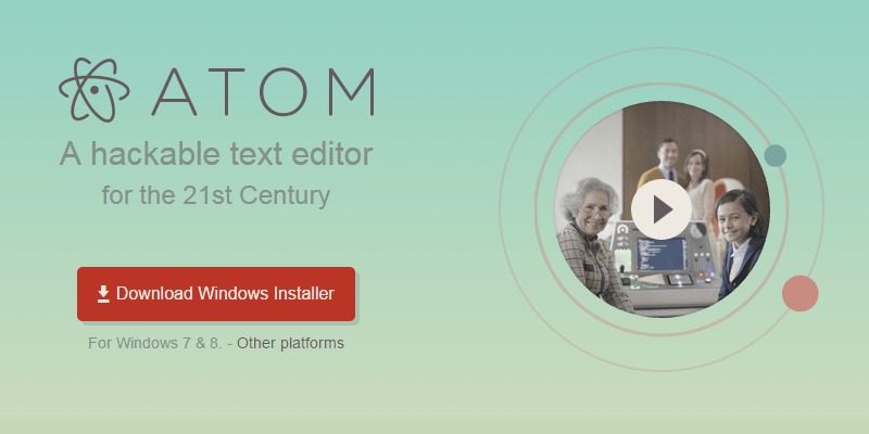 Atom: Open Source Cross-Plataform Text Editor