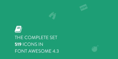 sketch font awesome icons set