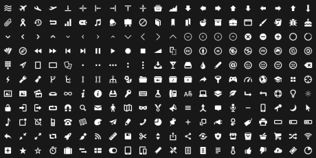 svg pictogram icons