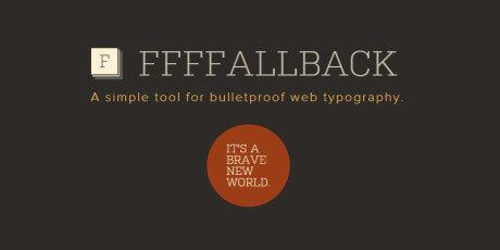 web typography testing tool