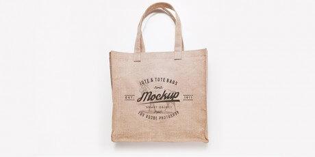 branding bags print mockup