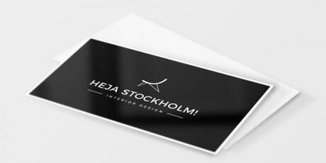 business card psd mockups set