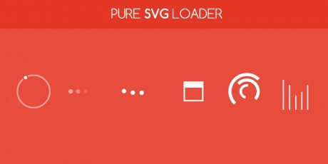 css animated vector loaders