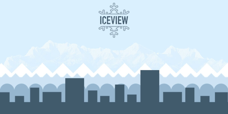 Iceview: CSS JavaScript Parallax Effect Snippet