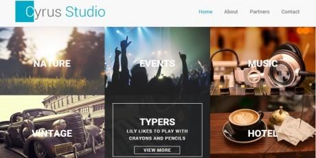 free html bootstrap portfolio theme